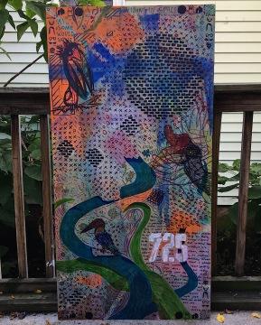 """725 Birds in the Void"" - 2017 - Kathleen Hager, Mackenzie Schmaltz, Alexander Twaddle, Ben Schumitz"